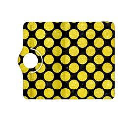 Circles2 Black Marble & Gold Glitter Kindle Fire Hdx 8 9  Flip 360 Case by trendistuff