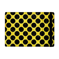 Circles2 Black Marble & Gold Glitter (r) Apple Ipad Mini Flip Case by trendistuff
