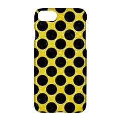 Circles2 Black Marble & Gold Glitter (r) Apple Iphone 7 Hardshell Case by trendistuff