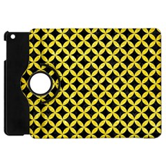 Circles3 Black Marble & Gold Glitter Apple Ipad Mini Flip 360 Case by trendistuff