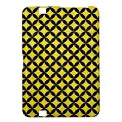 Circles3 Black Marble & Gold Glitter (r) Kindle Fire Hd 8 9  by trendistuff