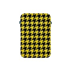 Houndstooth1 Black Marble & Gold Glitter Apple Ipad Mini Protective Soft Cases by trendistuff