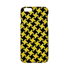 Houndstooth2 Black Marble & Gold Glitter Apple Iphone 6/6s Hardshell Case