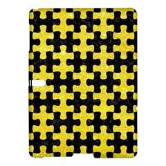 Puzzle1 Black Marble & Gold Glitter Samsung Galaxy Tab S (10 5 ) Hardshell Case  by trendistuff