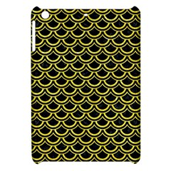 Scales2 Black Marble & Gold Glitterscales2 Black Marble & Gold Glitter Apple Ipad Mini Hardshell Case by trendistuff
