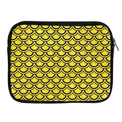 Scales2 Black Marble & Gold Glitter (r) Apple Ipad 2/3/4 Zipper Cases by trendistuff