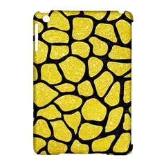 Skin1 Black Marble & Gold Glitter Apple Ipad Mini Hardshell Case (compatible With Smart Cover) by trendistuff