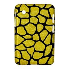 Skin1 Black Marble & Gold Glitter Samsung Galaxy Tab 2 (7 ) P3100 Hardshell Case  by trendistuff