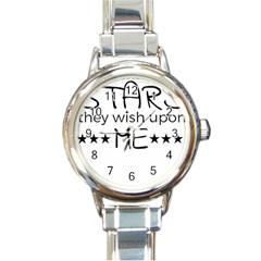 Raicyrose Round Italian Charm Watch by raicyrose
