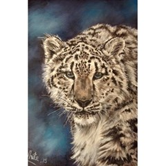 Snow Leopard 5 5  X 8 5  Notebooks