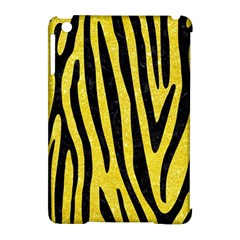 Skin4 Black Marble & Gold Glitter Apple Ipad Mini Hardshell Case (compatible With Smart Cover) by trendistuff