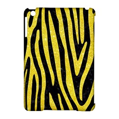 Skin4 Black Marble & Gold Glitter (r) Apple Ipad Mini Hardshell Case (compatible With Smart Cover) by trendistuff