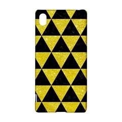 Triangle3 Black Marble & Gold Glitter Sony Xperia Z3+