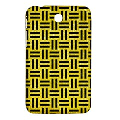 Woven1 Black Marble & Gold Glitter (r) Samsung Galaxy Tab 3 (7 ) P3200 Hardshell Case  by trendistuff