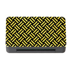 Woven2 Black Marble & Gold Glitter Memory Card Reader With Cf by trendistuff