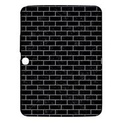 Brick1 Black Marble & Gray Colored Pencil Samsung Galaxy Tab 3 (10 1 ) P5200 Hardshell Case  by trendistuff