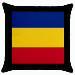 Gozarto Flag Throw Pillow Case (black) by abbeyz71