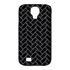 Brick2 Black Marble & Gray Colored Pencilbrick2 Black Marble & Gray Colored Pencil Samsung Galaxy S4 Classic Hardshell Case (pc+silicone) by trendistuff