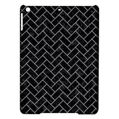 Brick2 Black Marble & Gray Colored Pencilbrick2 Black Marble & Gray Colored Pencil Ipad Air Hardshell Cases by trendistuff