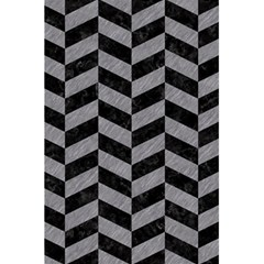 Chevron1 Black Marble & Gray Colored Pencil 5 5  X 8 5  Notebooks by trendistuff