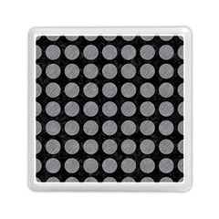 Circles1 Black Marble & Gray Colored Pencilcircle1 Black Marble & Gray Colored Pencil Memory Card Reader (square)  by trendistuff