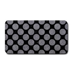 Circles2 Black Marble & Gray Colored Pencil Medium Bar Mats by trendistuff