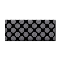 Circles2 Black Marble & Gray Colored Pencil Cosmetic Storage Cases by trendistuff