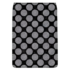 Circles2 Black Marble & Gray Colored Pencil Flap Covers (l)