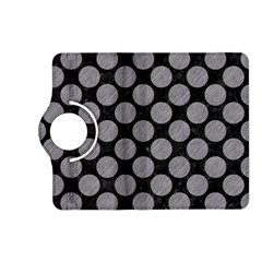 Circles2 Black Marble & Gray Colored Pencil Kindle Fire Hd (2013) Flip 360 Case by trendistuff