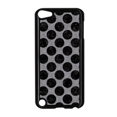 Circles2 Black Marble & Gray Colored Pencil (r) Apple Ipod Touch 5 Case (black) by trendistuff