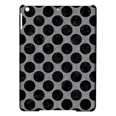 Circles2 Black Marble & Gray Colored Pencil (r) Ipad Air Hardshell Cases by trendistuff
