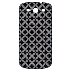 Circles3 Black Marble & Gray Colored Pencil Samsung Galaxy S3 S Iii Classic Hardshell Back Case by trendistuff