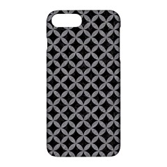 Circles3 Black Marble & Gray Colored Pencil Apple Iphone 7 Plus Hardshell Case by trendistuff