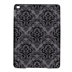Damask1 Black Marble & Gray Colored Pencil (r) Ipad Air 2 Hardshell Cases