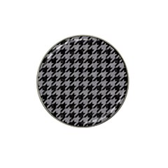 Houndstooth1 Black Marble & Gray Colored Pencil Hat Clip Ball Marker (10 Pack) by trendistuff