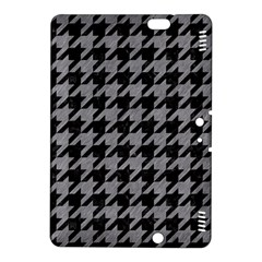 Houndstooth1 Black Marble & Gray Colored Pencil Kindle Fire Hdx 8 9  Hardshell Case by trendistuff