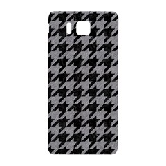 Houndstooth1 Black Marble & Gray Colored Pencil Samsung Galaxy Alpha Hardshell Back Case by trendistuff