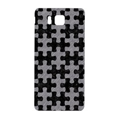 Puzzle1 Black Marble & Gray Colored Pencil Samsung Galaxy Alpha Hardshell Back Case