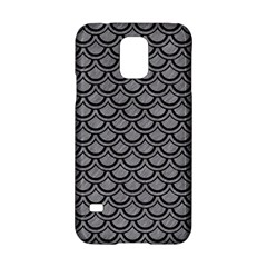 Scales2 Black Marble & Gray Colored Pencil (r) Samsung Galaxy S5 Hardshell Case  by trendistuff