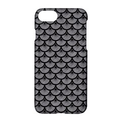 Scales3 Black Marble & Gray Colored Pencil (r) Apple Iphone 7 Hardshell Case
