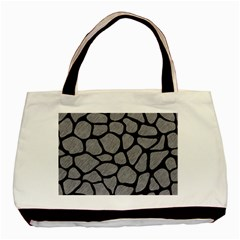 Skin1 Black Marble & Gray Colored Pencil Basic Tote Bag by trendistuff