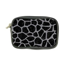 Skin1 Black Marble & Gray Colored Pencil (r) Coin Purse by trendistuff