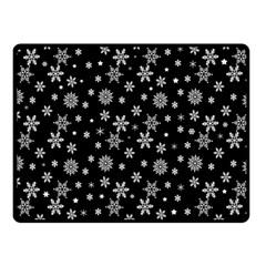 Xmas Pattern Fleece Blanket (small) by Valentinaart