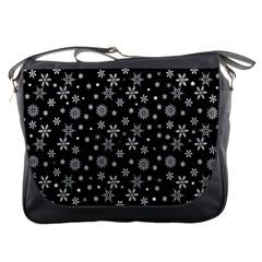 Xmas Pattern Messenger Bags by Valentinaart