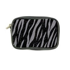 Skin3 Black Marble & Gray Colored Pencil Coin Purse by trendistuff