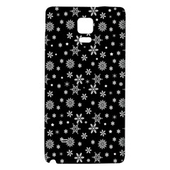 Xmas Pattern Galaxy Note 4 Back Case by Valentinaart