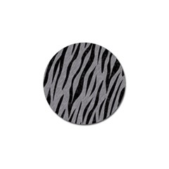 Skin3 Black Marble & Gray Colored Pencil (r) Golf Ball Marker (4 Pack) by trendistuff