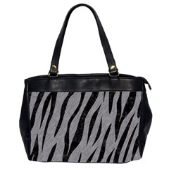 Skin3 Black Marble & Gray Colored Pencil (r) Office Handbags (2 Sides)  by trendistuff