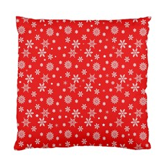 Xmas Pattern Standard Cushion Case (one Side) by Valentinaart