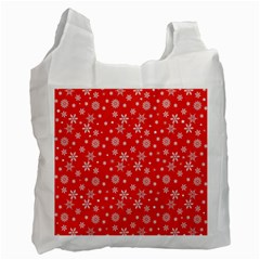 Xmas Pattern Recycle Bag (one Side) by Valentinaart
